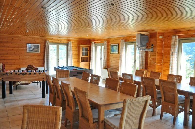 30 persoons groepsaccommodatie met sauna, bij La Roche Ardennen, 12 ...